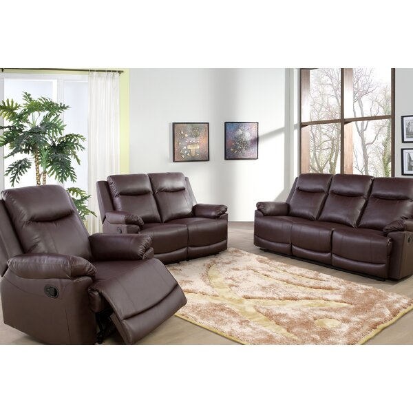 Ahlers 3 Piece Reclining Living Room Set by Red Barrel Studio