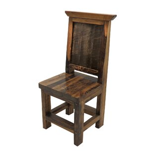 Jaramillo Solid Wood Dining Chair By Loon Peak
