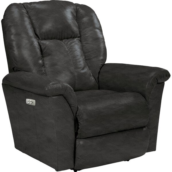 Jasper Leather Power Rocker Recliner by La-Z-Boy
