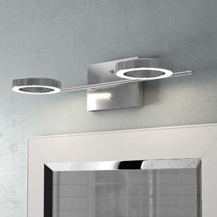 Price Check Dominique 2-Light LED Vanity Light By Orren Ellis