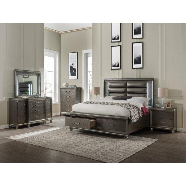 Garr Platform Configurable Bedroom Set by Everly Quinn