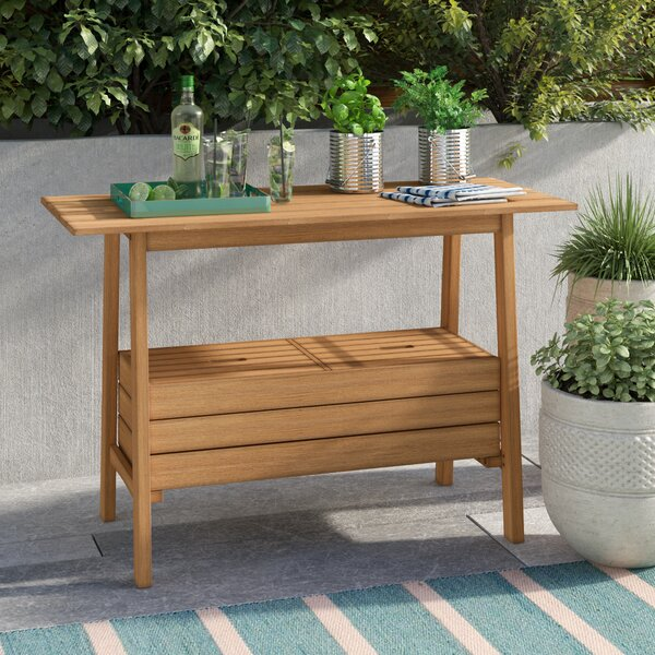 Keila Solid Wood Buffet & Console Table by Rosecliff Heights