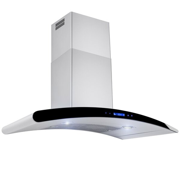 36 471 CFM Convertible Wall Mount Range Hood by AK