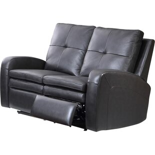 Sarah Leather 2 Seater Reclining Sofa By HydeLine Furniture