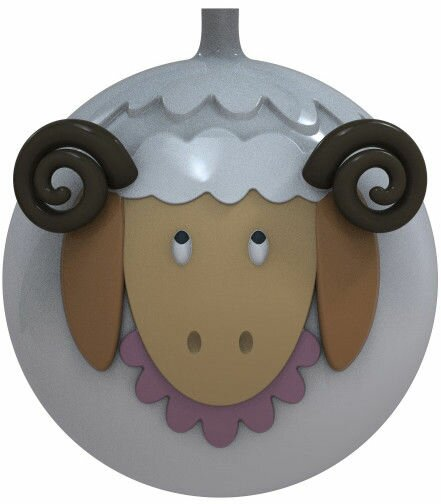 Pecorella Christmas Bauble by Alessi
