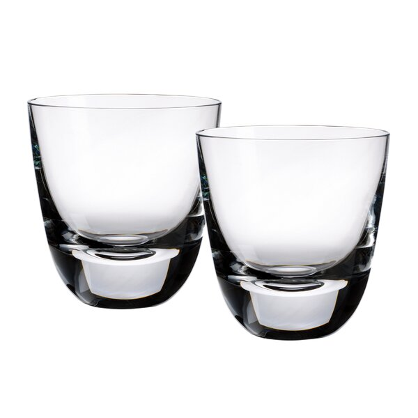 American Bar Straight Bourbon Old Fashioned Glass (Set of 2) by Villeroy & Boch