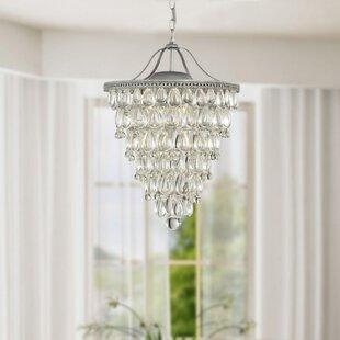 Albrecht Conical 4-Light Chandelier By Trent Austin Design Ceiling Lights