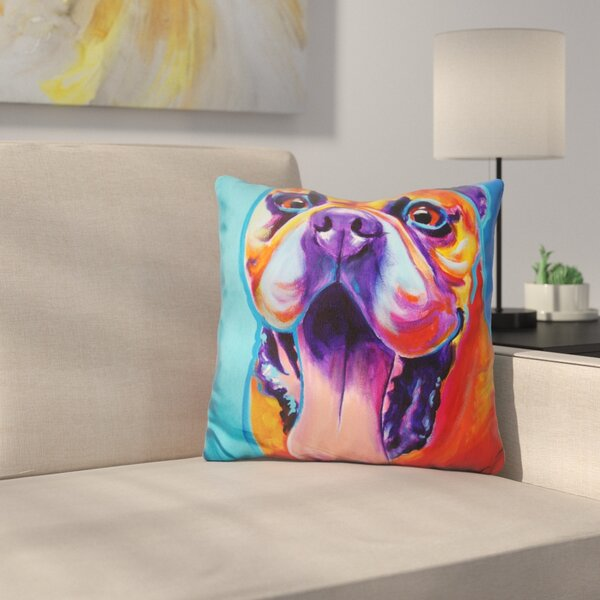 Tyson Throw Pillow by East Urban Home