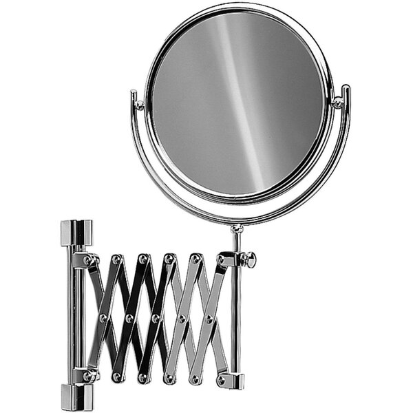 Knap Double-Sided Extendable Makeup/Shaving Mirror by Symple Stuff