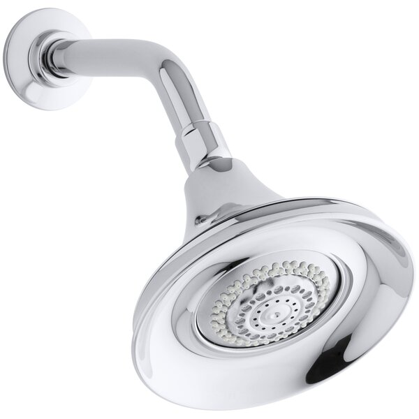 Forté 2.5 GPM Multifunction Wall-Mount Shower Head by Kohler