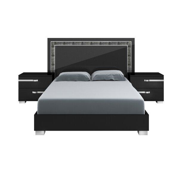Quiana Volare King Standard Bed by Orren Ellis