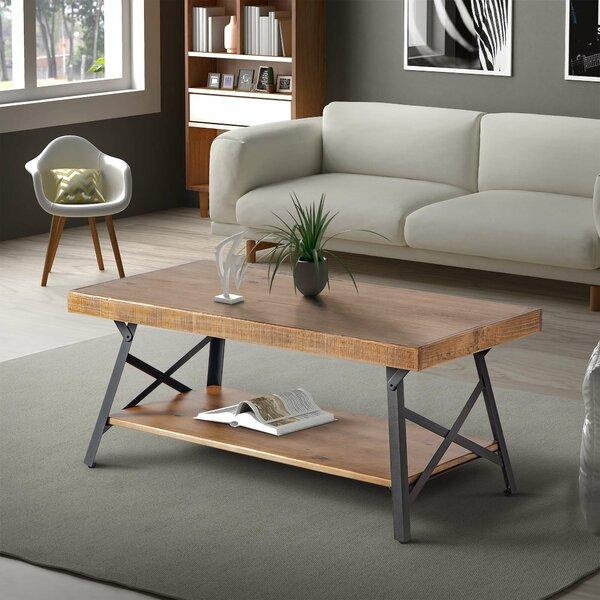 Strauss Floor Shelf Coffee Table By Union Rustic