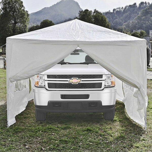 10 Ft. W x 30 Ft. D Metal Party Tent by ALEKO