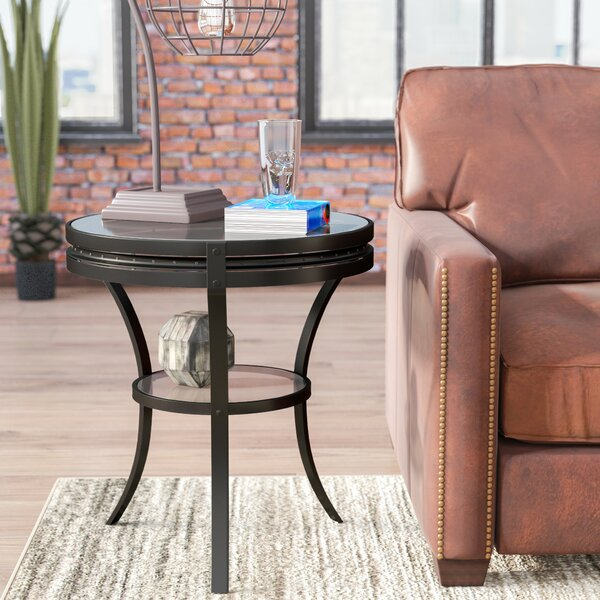 Poole End Table by Williston Forge
