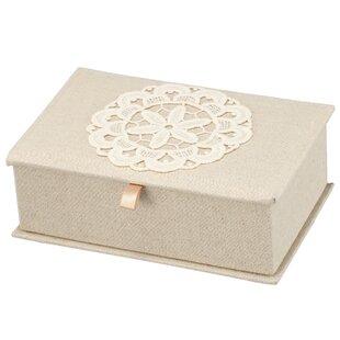 Inexpensive 2.5 H x 8 W x 5 D Vintage Lace Jewelry Box ByOphelia & Co.
