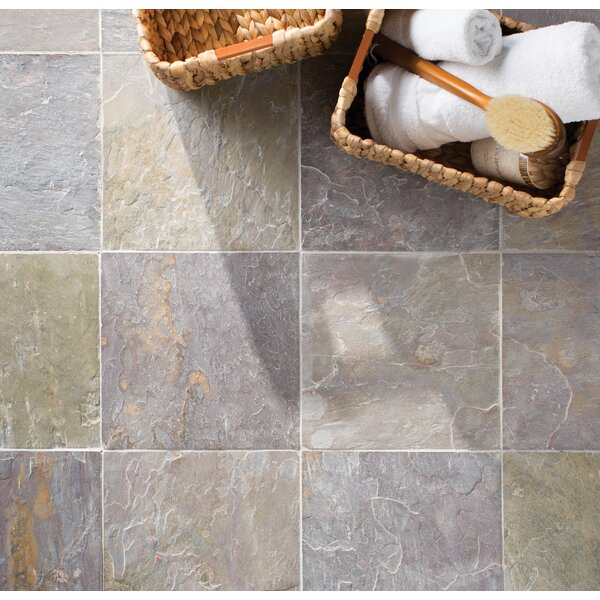 Classic 12'' x 12'' Slate Field Tile in Multi by MSI