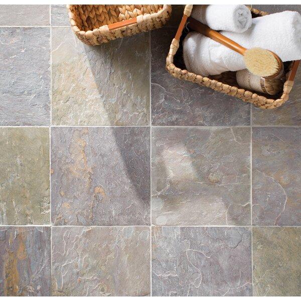 Classic 12'' x 12'' Slate Field Tile in Multi by MSI