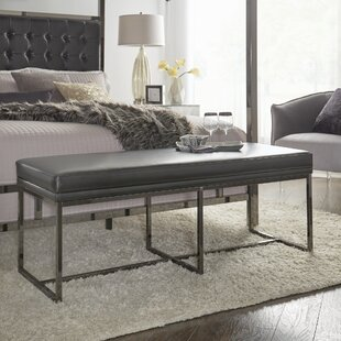 Fadrique Solid Metal Bedroom Bench