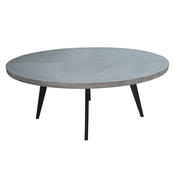 Fiskeville Acacia Oval Dining Table by Union Rustic