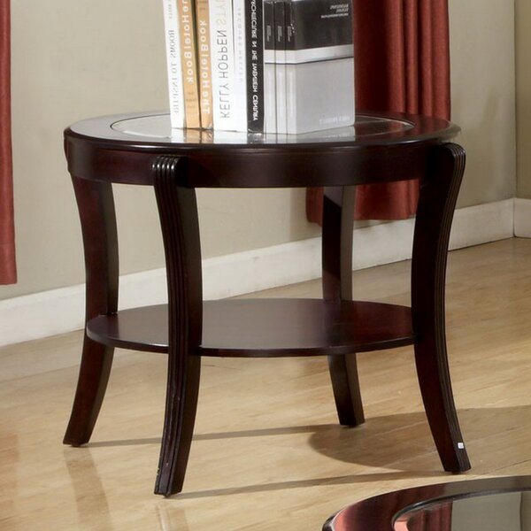 Brenda End Table by Alcott Hill