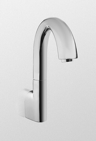 Eco Power Wall Mounted Electronic Gooseneck Thermal Mixing Bath Faucet by Toto Toto