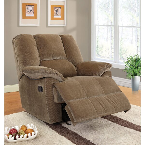 Able Manual Glider Recliner By A&J Homes Studio