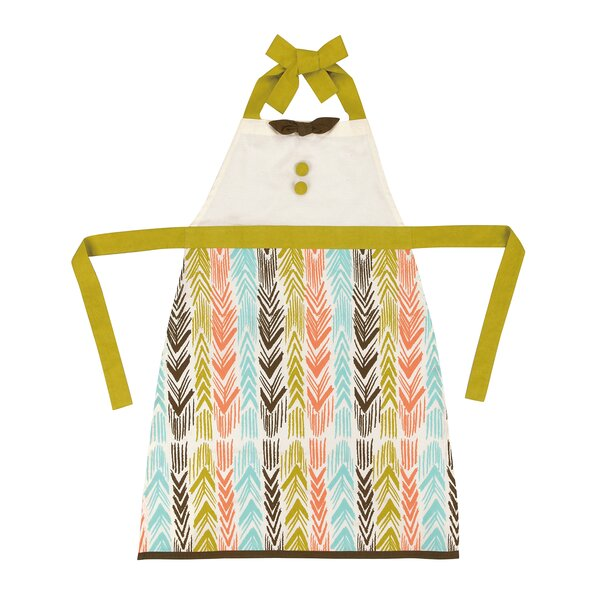 Feather Ikat Apron by Sarah Watts