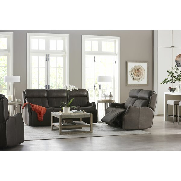 Mujdat Leather Reclining Configurable Living Room Set By Latitude Run