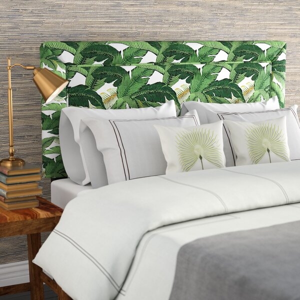 Eure Upholstered Panel Headboard by Beachcrest Home