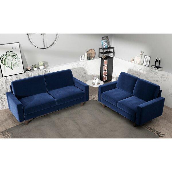 Len 2 Piece Living Room Set by Mercer41 Mercer41