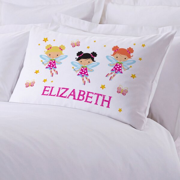 Personalized Fairy Pillow Case by Monogramonline Inc.