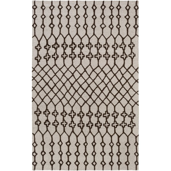 Littrell Hand-Tufted Tan Area Rug by Union Rustic