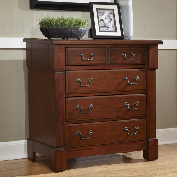 Cargile 4 Drawer Bachelors Chest by Darby Home Co