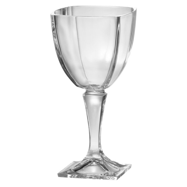Crystalline 9 Oz. Crystal Glass (Set of 6) by Majestic Crystal