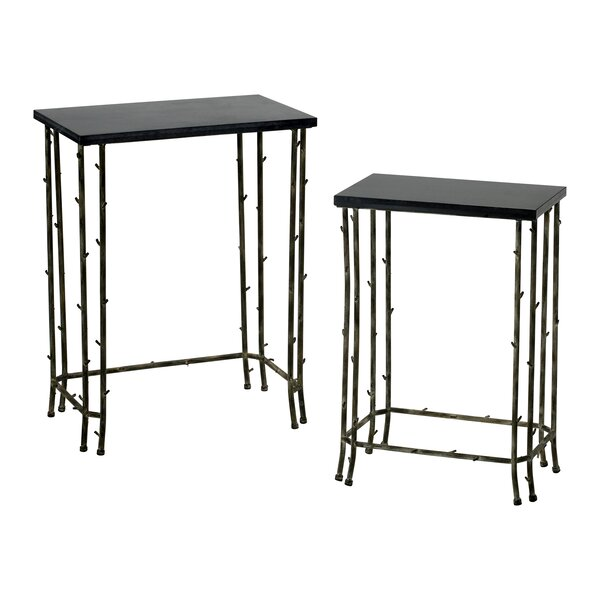 2 Piece Nesting Tables by Cyan Design