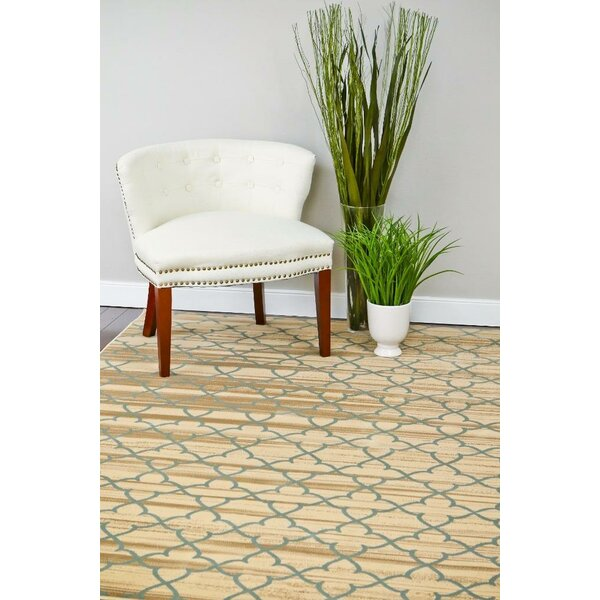 Spaulding Ivory/Gray Indoor/Outdoor Area Rug by Andover Mills