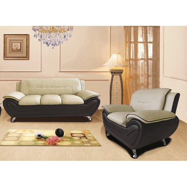 Nataly 2 Piece Living Room Set (Set of 2)