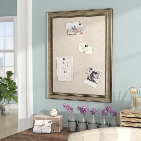 Wall Mounted Bulletin Board by Gracie Oaks