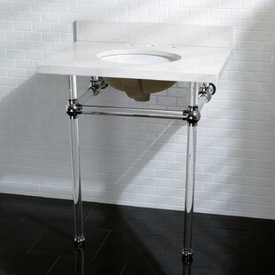 Price Check Templeton 30 Console Bathroom Sink with Overflow By Kingston Brass