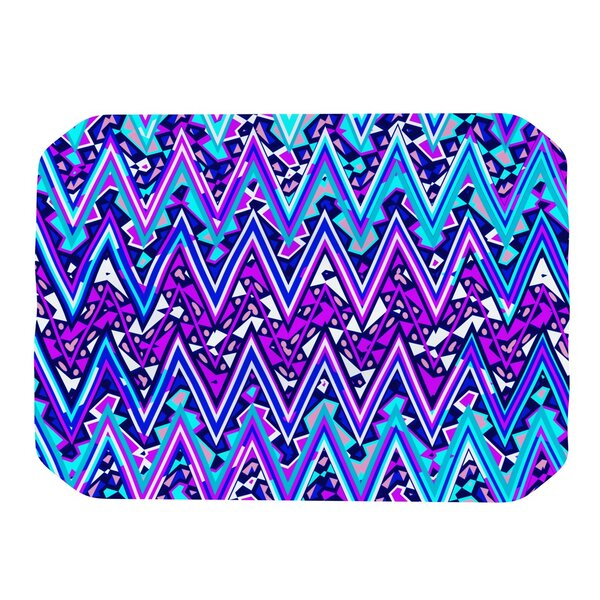 Electric Chevron Placemat by KESS InHouse