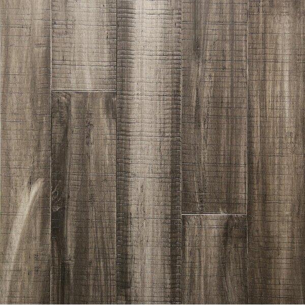 5 Engineered Bamboo Flooring in Charcoal by Islander Flooring