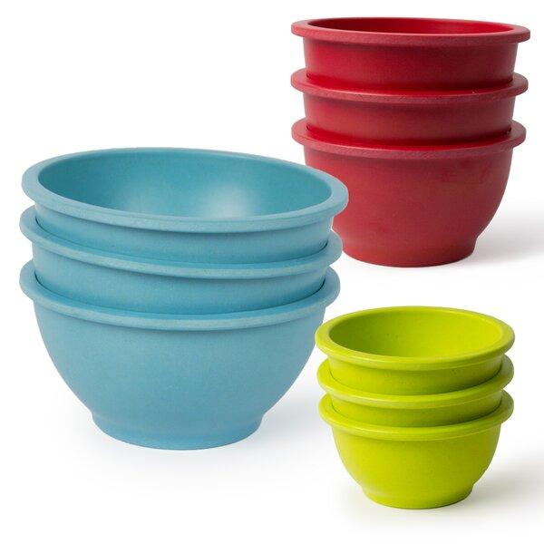 Homegrown Gourmet 9 Piece Mixing Bowl Set by Architec