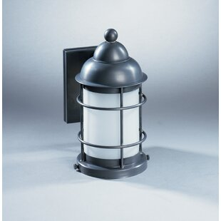 Order Nautical 1-Light Outdoor Wall Lantern By Northeast Lantern