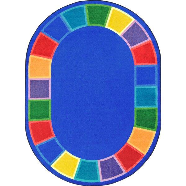 Kid Essentials Blue Indoor/Outdoor Area Rug by Joy Carpets