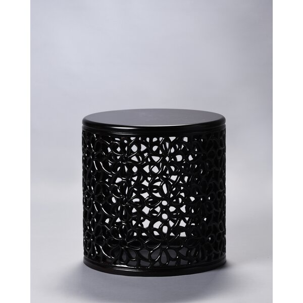 Beedle Jali End Table by Bungalow Rose