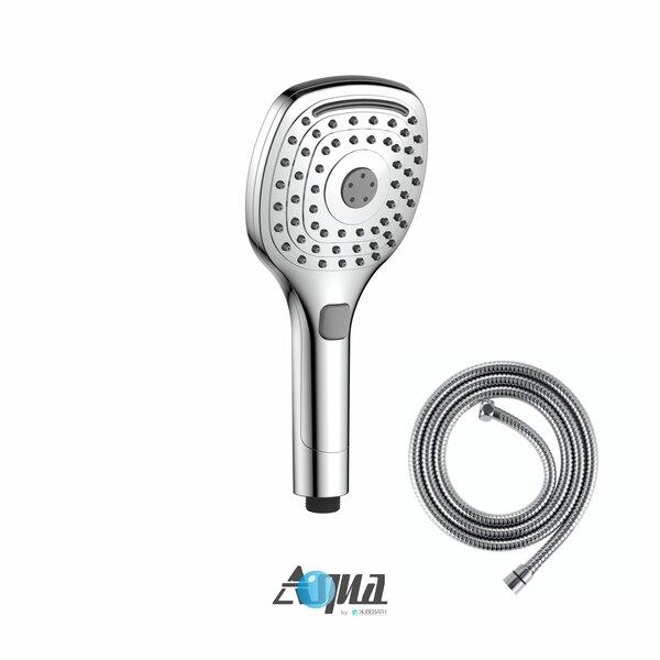 Aqua Piazza 5 Multifunction Handheld with Flexible Hose by Kube Bath