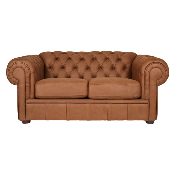 Alexa III Chesterfield Loveseat by REZ Furniture