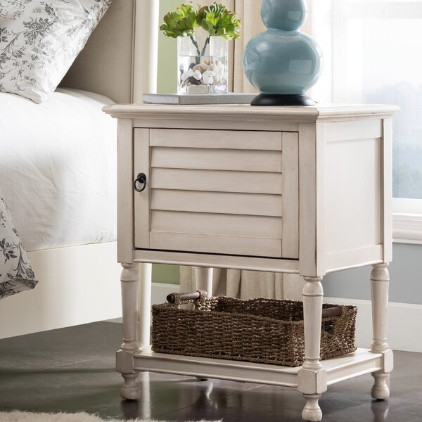 Vowell Louvered Nightstand by Canora Grey