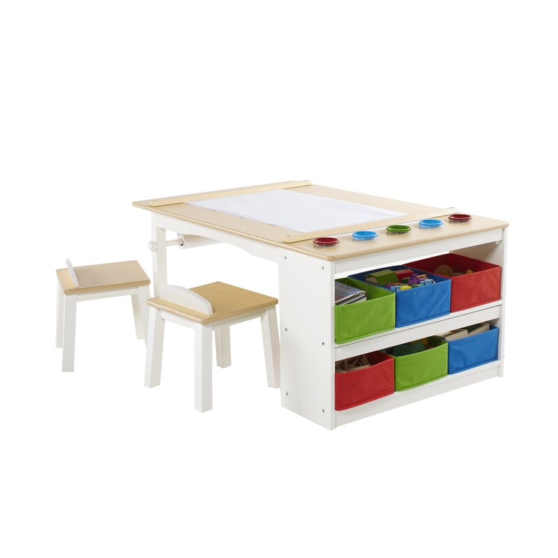 Ordinaire Birch Lane Kids Intermediate 10 Piece Arts Crafts Table And