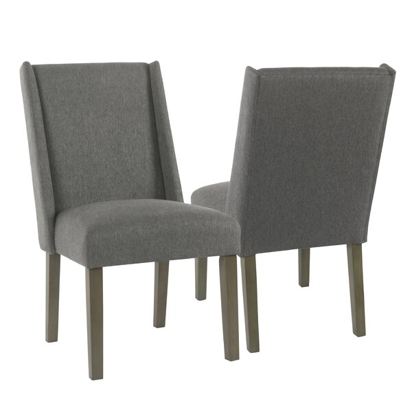 Bowers Upholstered Dining Chair (Set of 2) by Rosecliff Heights